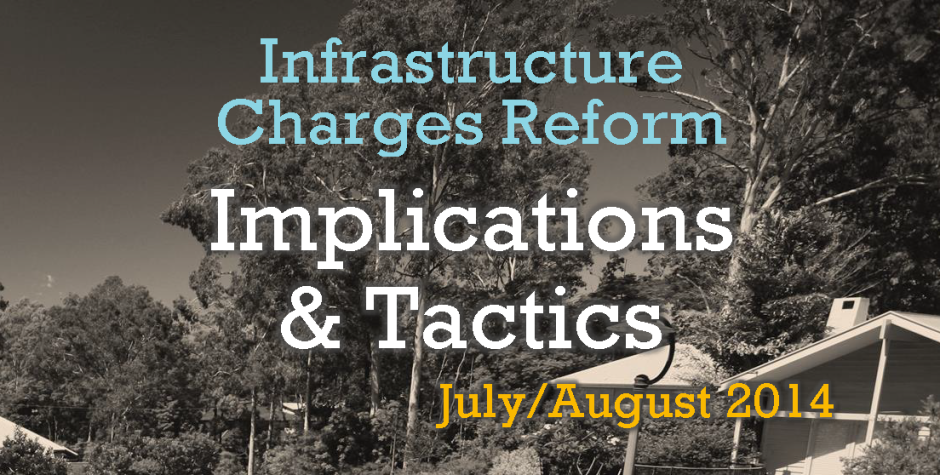 Event | Infrastructure Charges Reform- Implications & Tactics